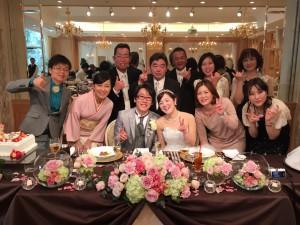 新美さん結婚式1